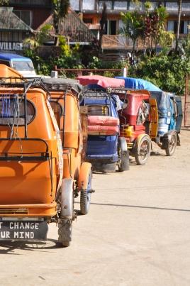 Banaue, Tricycle, Philippinen
