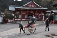 Japan, einfache Touristenkutsche