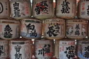 Japan, Sake Fässer