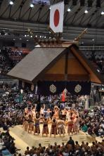 Japan, Osaka, Sumō
