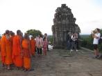Cambodia, Gruppenphoto der Mönche