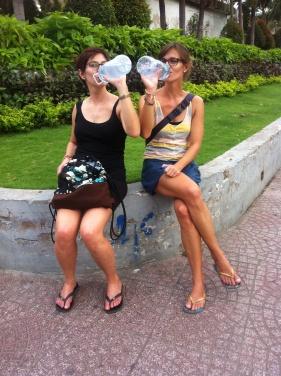 Vietnam, HCMC, Lienhard Sisters