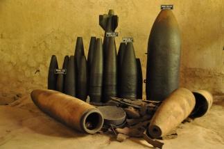 Vietnam, Cu Chi Tunnels, Bomben