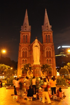 Vietnam, HCMC, Notre Dame