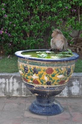 Thailand, Phetchaburi, Khao Wang