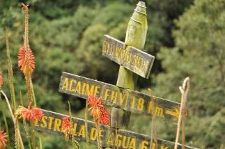 Kolumbien, Wanderung