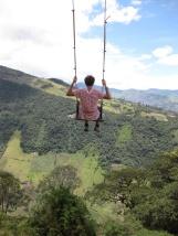 Ecuador, Banos, Casa del arbol